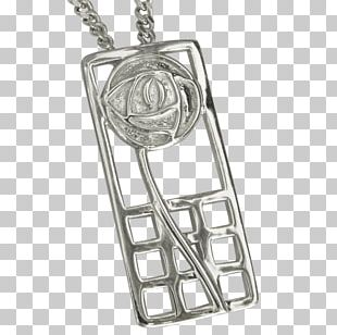 Pendant Silver Jewellery Chain Product Design PNG