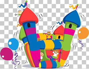 Inflatable Castle Child PNG