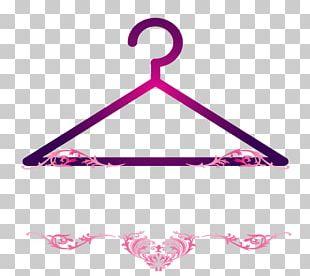 Clothes Hanger Logo Graphic Design PNG