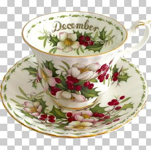 Coffee Cup Teacup Saucer Bone China PNG