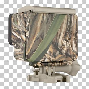 GoPro Camo Housing + QuickClip Military Camouflage Camcorder PNG