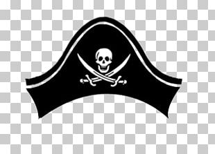 Pirate Hat Skull PNG