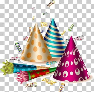 Party Horn Birthday PNG