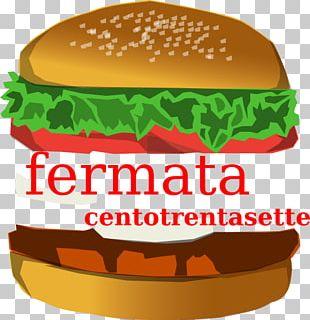 Hamburger Cheeseburger French Fries Junk Food PNG