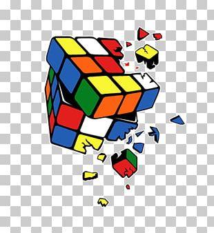 Printed T-shirt Sheldon Cooper Rubik's Cube PNG
