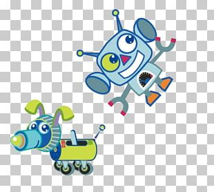 Robot Cartoon Adobe Illustrator PNG