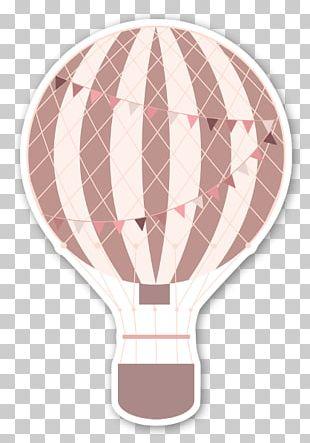 Sticker Hot Air Balloon Paper Label PNG