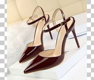 High-heeled Shoe Court Shoe Sandal Dress PNG