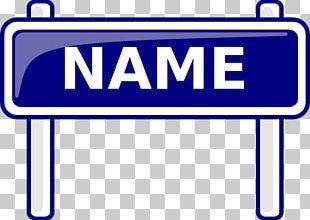 Name Tag PNG