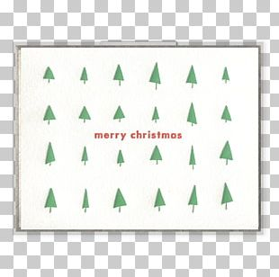 Rectangle Christmas Tree Leaf PNG