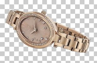 Watch Strap Titan Company Gold Dial PNG