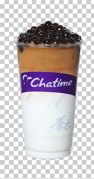 Cream Bubble Tea Latte Milk PNG
