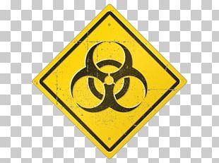 Biological Hazard Symbol Sign PNG