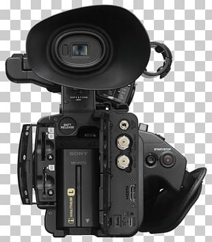 Sony NXCAM HXR-NX5R Video Cameras XAVC Professional Video Camera PNG