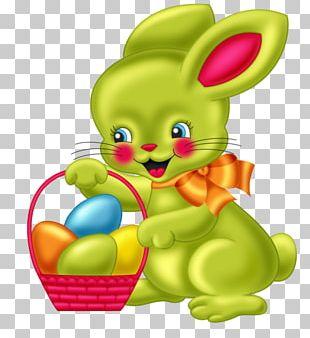 Easter Bunny Rabbit Cartoon PNG