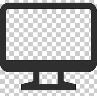 Simple Computer Screen Icon PNG