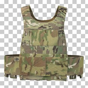 Military Camouflage Soldier Plate Carrier System MOLLE Bullet Proof Vests PNG
