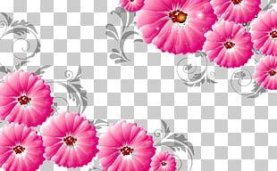 Mural Wall 3D Computer Graphics Flower 3D Film PNG