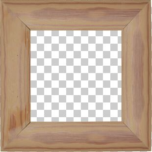 Wood Stain Hardwood Square Angle Frame PNG