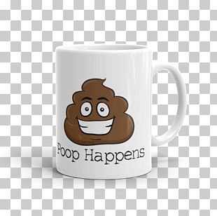 Mug Pile Of Poo Emoji Feces Ceramic PNG