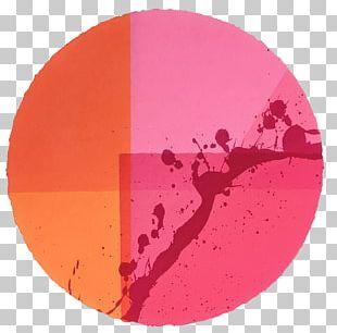 Circle Magenta Pink M Heart PNG