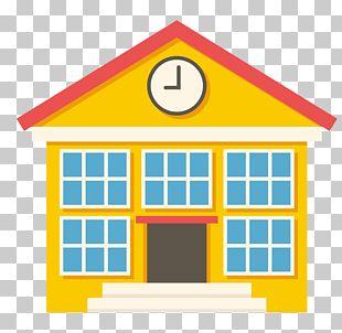 School Building Icon PNG
