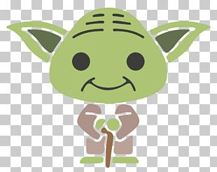 Yoda Greeting Card Fathers Day Christmas Card PNG