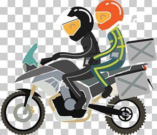 Motorcycle Touring Vehicle Motoclub PNG