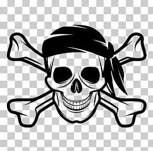 Skull And Bones Skull And Crossbones Human Skull Symbolism Jolly Roger Piracy PNG