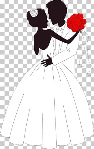 Wedding Invitation Bride Illustration PNG