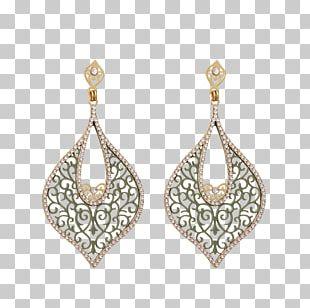 Earring Jewellery Gemstone Gold Bijou PNG