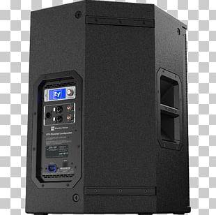 Electro-Voice Powered Speakers Loudspeaker Microphone Class-D Amplifier PNG