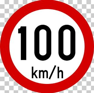 Traffic Sign Speed Limit Road Kilometer Per Hour PNG
