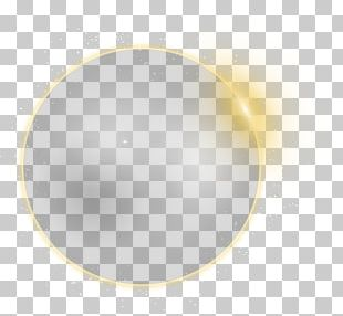 Yellow Circle Pattern PNG