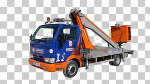 Tow Truck Car Commercial Vehicle Aerial Work Platform PNG
