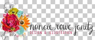 Floral Design Art Watercolor Painting Logo PNG