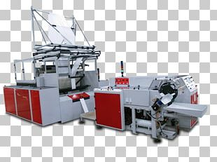 Plastic Bag Machine Paper PNG