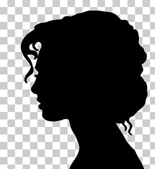 Victorian Era Silhouette Female Woman Drawing PNG