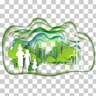 Green Sustainable City Ecology PNG