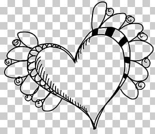 Heart Drawing Paper PNG