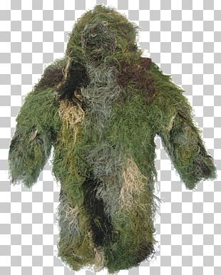 Ghillie Suits Military Camouflage Jacket PNG