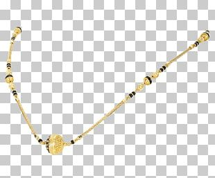 Orra Jewellery Gold Necklace Mangala Sutra PNG