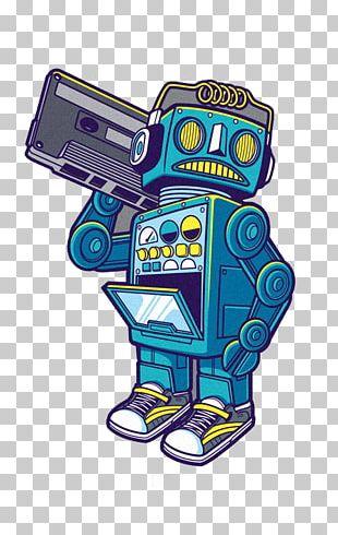 Sticker Robot Decal T-shirt PNG