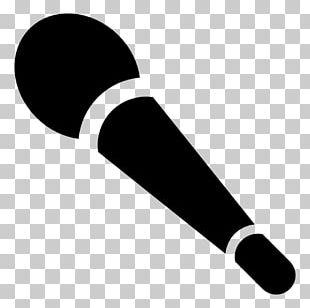 Wireless Microphone Disc Jockey PNG