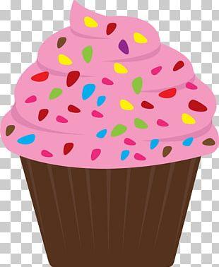 Cupcake Frosting & Icing Birthday Cake Sprinkles PNG