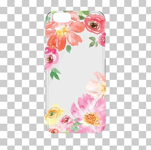 IPhone 6 IPhone 7 Mobile Phone Accessories Samsung Galaxy Floral Design PNG