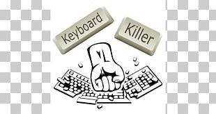 Keyboard Killers Computer Keyboard Steam Incremental Game Logo PNG