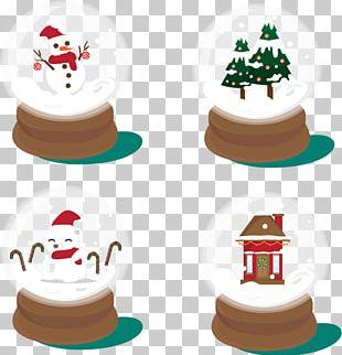 Light Santa Claus Christmas Ornament PNG