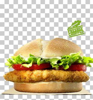 TenderCrisp Chicken Sandwich Hamburger Burger King Specialty Sandwiches KFC PNG