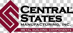 Central States Manufacturing Logo Metal Roof PNG